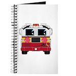 Cute Little Fire Engine Journal