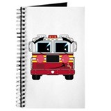 Cute Little Fire Engine Journal