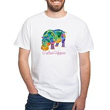 I Love Hippos of Many Colors Shirt