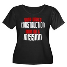 Body under construction... Women's Plus Size Scoop