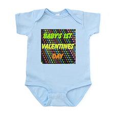 Baby's 1st Valentines Day Infant Bodysuit