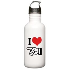 I Love Him/Her 2 Water Bottle