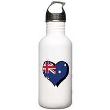 I Love Australia Water Bottle