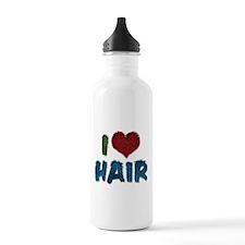 I Love Hair Water Bottle