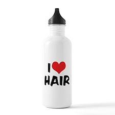 I Love Hair 2 Water Bottle