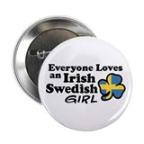 "Irish Swedish Girl 2.25"" Button"