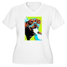 Play Ball Rottweiler T-Shirt