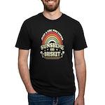 VASHE RADIO Women's Fitted T-Shirt (dark)