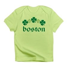 Irish Boston Lucky Clover Infant T-Shirt