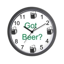 Got Beer? Wall Clock