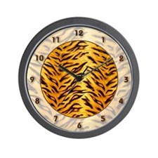 <b>SAFARI SERIES:</b> Tiger Wall Clock