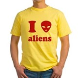 I Love Aliens T