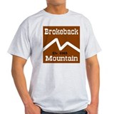 Brokeback Mountain Elv. 6969 Ash Grey T-Shirt