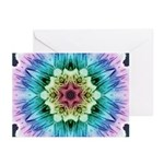 Rainbow Flake Greeting Cards (Pk of 20)