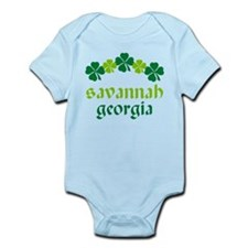 Savannah Georgia Irish Infant Bodysuit