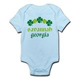 Savannah Georgia Irish Onesie
