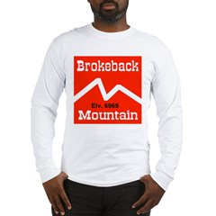 Brokeback Mountain Elv. 6969 Long Sleeve T-Shirt