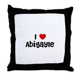 I * Abigayle Throw Pillow