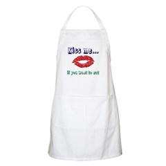 Kissme...if you want to eat Apron