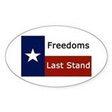 Cute Republic of texas Decal