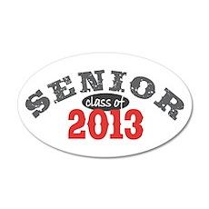 Senior Class of 2013 38.5 x 24.5 Oval Wall Peel