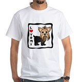 Love My Yorkshire Terrier Shirt
