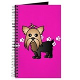 Cute Yorkshire Terrier Journal
