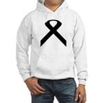 Ribbon Causes Hooded Sweatshirt