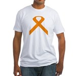 Ribbon Causes Fitted T-Shirt