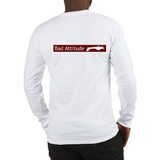 """Bad Attitude"" Long Sleeve T-Shirt"
