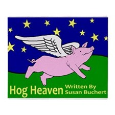 Hog Heaven Throw Blanket