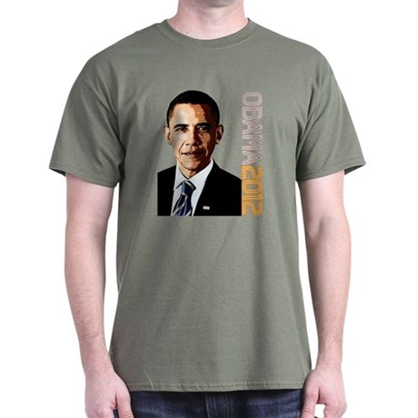Obama Portrait Dark T-Shirt