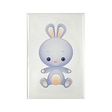 Cute kawaii Rabbit Rectangle Magnet