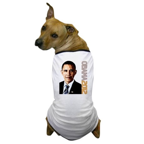 Obama Portrait Dog T-Shirt
