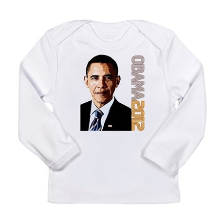 Obama Portrait Long Sleeve Infant T-Shirt