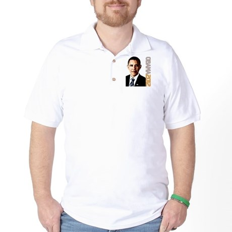 Obama Portrait Golf Shirt