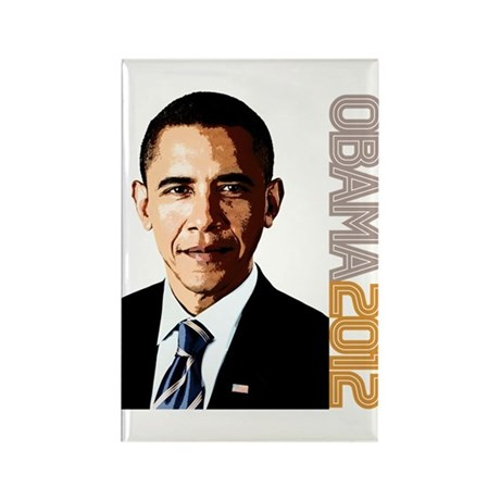 Obama Portrait Rectangle Magnet