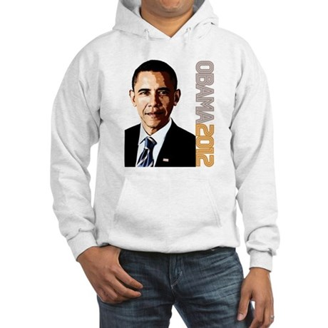 Obama Portrait Hooded Sweatshirt