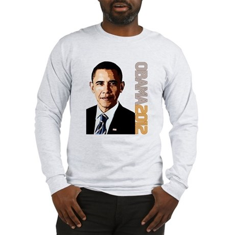 Obama Portrait Long Sleeve T-Shirt