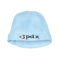 Less Than Three PDX Gear baby hat
