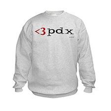 Less Than Three PDX Gear Sweatshirt