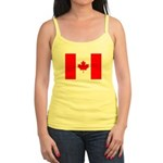 Canadian Flag Jr. Spaghetti Tank