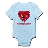 Godmother Loves Me Valentine Onesie