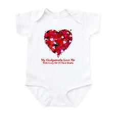 Godparents Love Me Valentine Onesie