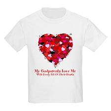 Godparents Love Me Valentine T-Shirt