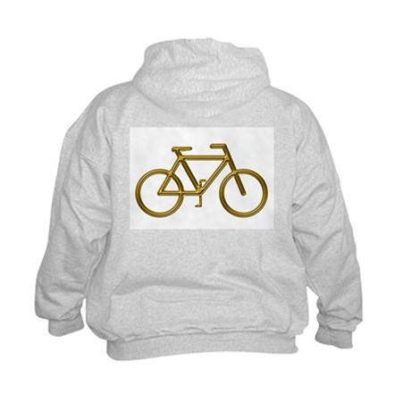 """Bronze Bike"" Kids Sweatshirt"