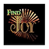 Find Joy sunset Tile Coaster