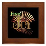 Find Joy sunset Framed Tile