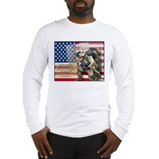 Cute Patriotic Long Sleeve T-Shirt