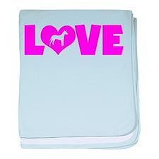 LOVE XOLO baby blanket